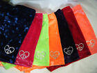 NEW STRETCH  VELVET SHORTS with crystals gymnastics dance ALL SIZES /COLORS