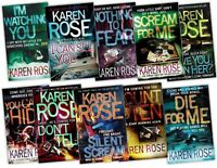 Karen Rose Collection 10 Books Pack Set RRP: £88.76