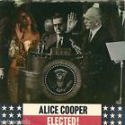 """ALICE COOPER USA DJ 7"""" ELECTED with PS, WB 7631, 1972 promo"""