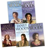 Janet Woods Collection 5 Books Set Pack New RRP: £34.95