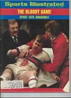 SPORTS ILLUSTRATED 1973 THE BLOODY GAME #33