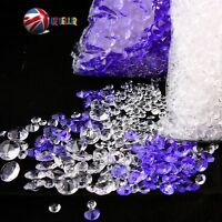 WEDDING TABLE DECORATIONS DIAMONDS SCATTER CRYSTALS MIX