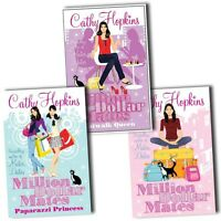 Million Dollar Mates Collection Cathy Hopkins 3 Books Set Pack Catwalk Queen New