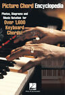 Picture Chord Encyclopedia Piano Keyboard 1600+ Chords Theory Chart Hal Leonard