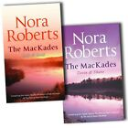 Nora Roberts Collection The Mackade Brothers 4 Novels In 2 Books Set Pack New