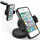 Windscreen Car Windshield Holder Cradle Mount + Gel Case For Iphone 4 4S