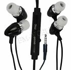BLACK IN EAR HANDSFREE EARPHONES WITH MIC FOR BLACKBERRY TORCH 9800