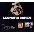 """LEONARD COHEN """"SONGS OF LEONARD COHEN & SONGS OF LOVE AND HATE"""" 2 CD NEW"""