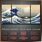 The Great Wave off Kanagawa Art Canvas Box More Color & Style & Size !!