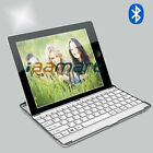 White Silver Smart Aluminum Case Cover Bluetooth Keyboard For Apple ipad 2 IPAD3