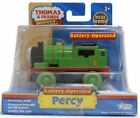 MOTORIZED BATTERY POWERED PERCY Thomas Tank Engine WOODEN Railway NEW IN BOX
