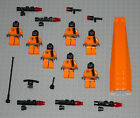 LEGO Minifigures Lot 7 Space Zombie Aliens Weapon Blaster Lego Monster Minifigs