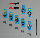 LEGO Minifigures 7 Space Marines Alien Defense Halo Weapons Lego Minifigs Guys