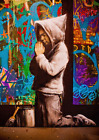 Brand New Poster Print: Banksy: Forgive us our Trespasses A3 / A4
