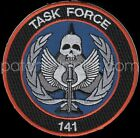 """CALL OF DUTY 141 Task Force Color Logo 3.5"""" Embroided Patch"""