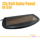 SOLAR PANEL BATTERY CHARGER 12V CAR TRUCK BOAT CARAVAN w/ Croc Clip