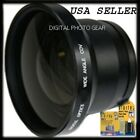 58mm .43X Wide Angle Lens with Macro For Canon T4i T3i T2i T1i XTi XSi 60D 7D 5D