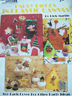 1990 Leisure Arts Party Favors in Plastic Canvas Pattern Book Baby Horse Witch
