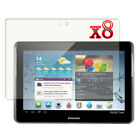 """8X LCD Screen Protector Guard Film For Samsung GALAXY Tab 2 P5100 10.1"""" Tablet"""