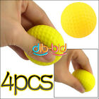 4x Light Indoor Outdoor Training Practice Golf Soft PU Foam Balls Mini