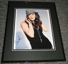 Charlene Amoia SEXY Signed Framed 8x10 Photo AW Glee How I Met Your Mother
