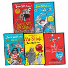 David Walliams 5 Books Collection Pack Set Ratburger Gangsta Granny Mr Stink New