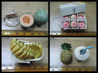 ORCARA MINIATURE DOLLS HOUSE FOOD BOX PEACHES PINEAPPLE JUICE BOTTLE 12th SCALE