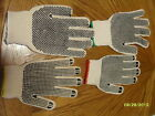 NEW Two Sided Dotted Work Gloves