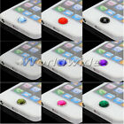 10x Crystal Diamond Bling Home Button Stickers For Apple iPod iPhone 3GS 4 4S 5G