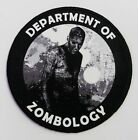 """Zombie """"DEPARTMENT OF ZOMBOLOGY"""" Scientist Medical Logo Iron-On Patch!"""