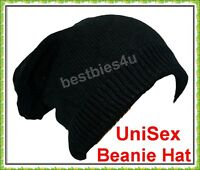 New Oversized Slouch Beanie Hat Long Beanie Hat Warm knitted Supersoft Unisex