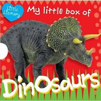 Dinosaurs My Little Pocket Library 6 Children Books Collection Pack Set
