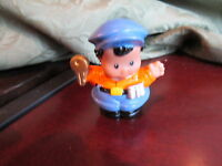Fisher Price Little People bus driver ice cream truck village shop keeper key aa