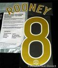 Manchester United Rooney 8 2006/07 Uefa Champions League Football Shirt Name Set