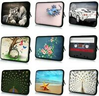 """Stylish 15"""" 15.6"""" 15.6"""" Soft Neoprene Laptop Netbook Bag Sleeve Case Cover Pouch"""