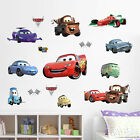 Disney Cars Wall Deco Vinyl Sticker Removable Nursery Art Boys Mural
