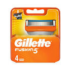 4 Refill Cartridges Gillette Fusion Razor Blade Pack