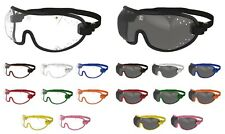 KROOPS Skydiving Parachute Sports Goggles Punch Vent| Clear+Tinted| FREE UK P&P