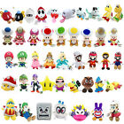 Super Mario Bros Plush Toy Character Soft Doll Stuffed Animal Nintendo Game New