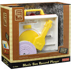 Fisher Price Classic Vintage Look Changeable Disk Record Player Toy NIB NEW