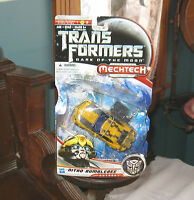 Transformers Dark of the Moon Mechtech Autobot Nitro Bumblebee 2010 MB