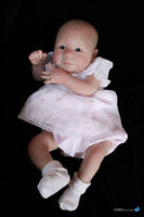 """Full Kit to Reborn 20"""" Baby """"Nolan"""" by Rebecca Biedermann with Air Dry Paints"""