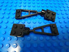 LEGO Modified Plates Towball & Plate w/ Socket BLACK 4 Parts