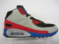 MENS AIR TECH TRAINER GREY/RED/BLUE STYLE: HYPE