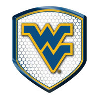 West Virginia Mountaineers NCAA Reflector Decal Shield Car Mailbox Logo Sticker