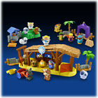 Fisher Price Little People Christmas Nativity 2011 Manger Shepherds Wise men new