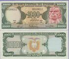 Ecuador 1000 Sucres Banknote 7.26.1979 Choice About Uncirculated Cat#120-A-9211