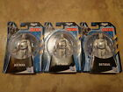 3 MATTEL--THE DARK KNIGHT RISES--WHITE BATMAN FIGURES (NEW) TARGET EXCLUSIVE