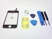 NEW iPHONE 3G BLACK OEM REPLACEMENT GLASS TOUCH SCREEN DIGITIZER +TOOLS ADHESIVE