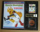 Detroit Tigers' Mark Fidrych SI photo plaque with Printed Sig -Give 'em The Bird